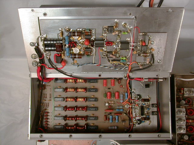 transceiver, inside, power amplifier