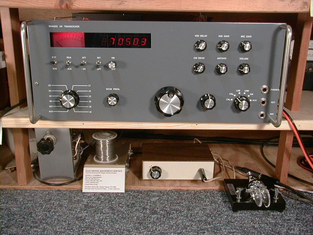 transceiver, front view